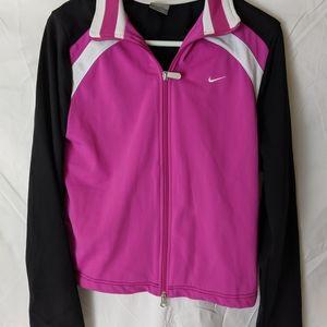 Women's Nike warm up jacket size large